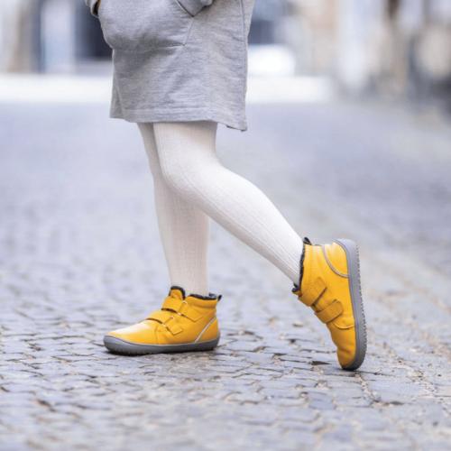 Детски зимни боти Be Lenka Penguin - жълто
