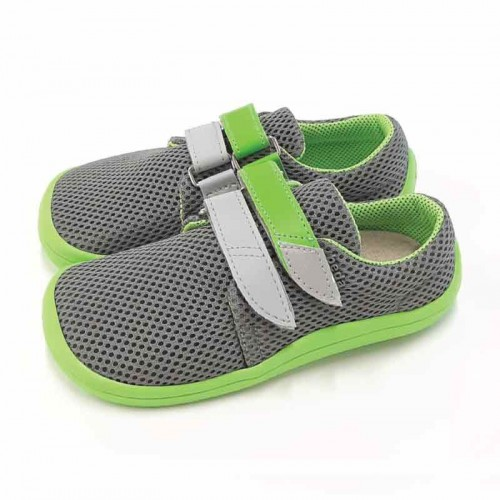 Детски боси обувки Beda mesh 2021 - Лайм