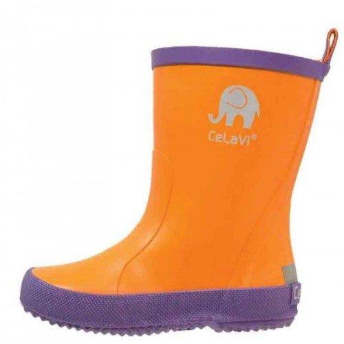 CeLaVI ботуши за дъжд - лилаво/оранжево