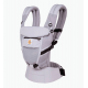 Ергономична раница Ergobaby Adapt Cool Air Mesh - Lilac Grey