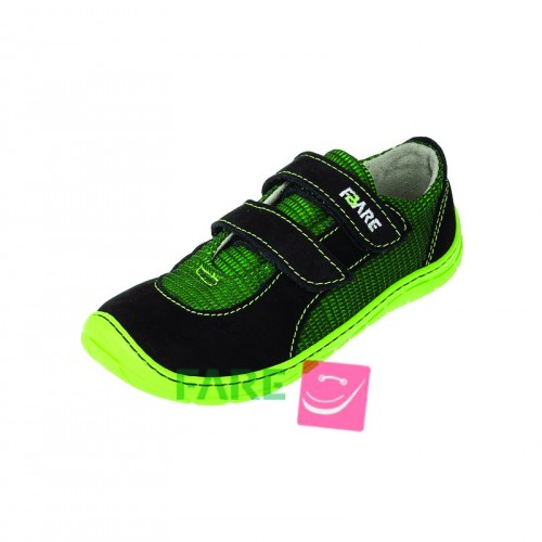 Fare Bare, детски боси обувки , зелено