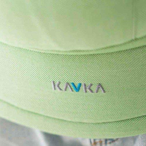 Ергономична раница KAVKA - Multi - age - Green ash herringbone bamboo
