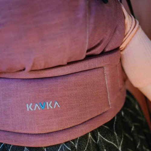 Ергономична раница KAVKA - Multi - age - Vintage rose Linen