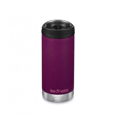 Термо бутилка Klean Kanteen TKWide 2в1, cafe cap, тъмно лилаво