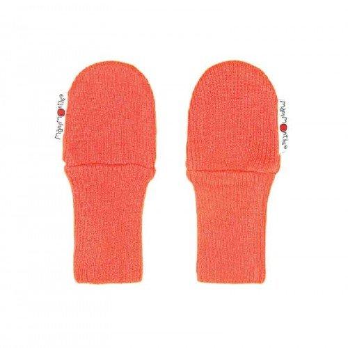 Вълнени ръкавици без пръсти ManyMonths  - Precious coral