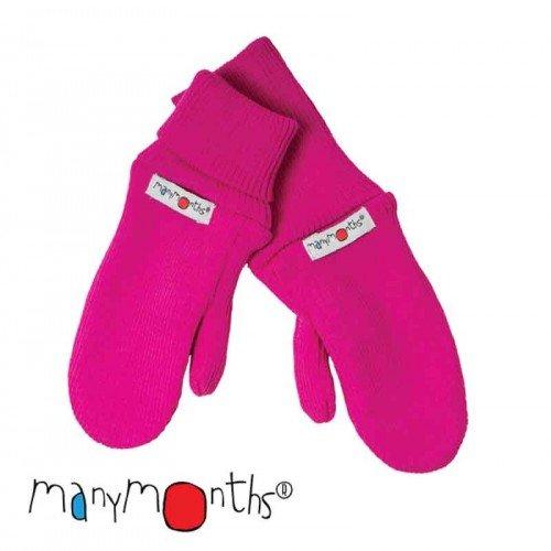 Вълнени ръкавици  ManyMonths  - Lilac rose