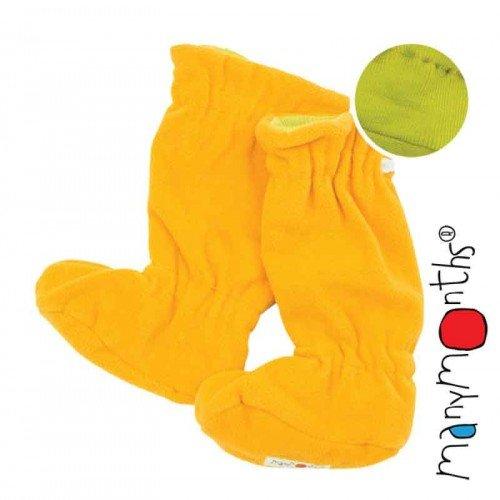 Двулицеви вълнени ботушки MaM - Sweet Apple/Saffron