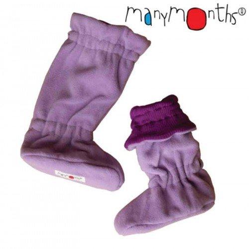 Двулицеви вълнени ботушки MaM -  Violet Lotus