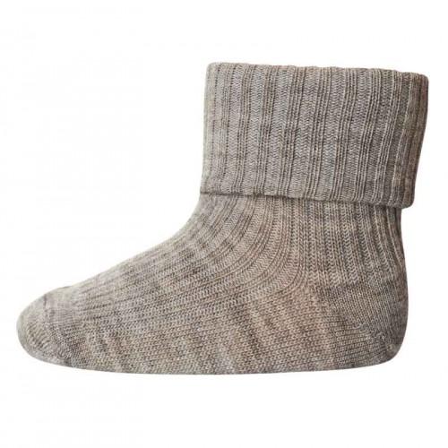 MP DENMARK тънки чорапи - светло кафяво, рипс