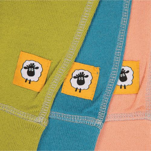 Бебешки панталонки 100% мерино Mix'n'Match - зелено